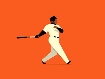 Bonds sports vector baseball mlb san francisco giants barry bonds