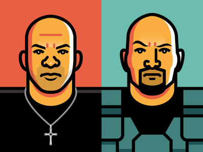 Fast & Furious fast and furious f8 lieutenant hobbs the rock vin diesel dominic toretto
