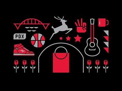 Portland Basketball clyde drexler pdx basketball nba trailblazers blazers portland
