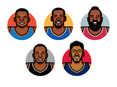 NBA Superstars new orleans pelicans san antonio spurs houston rockets golden state warriors oklahoma city thunder anthony davis kawhi leonard james harden kevin durant russell westbrook nba