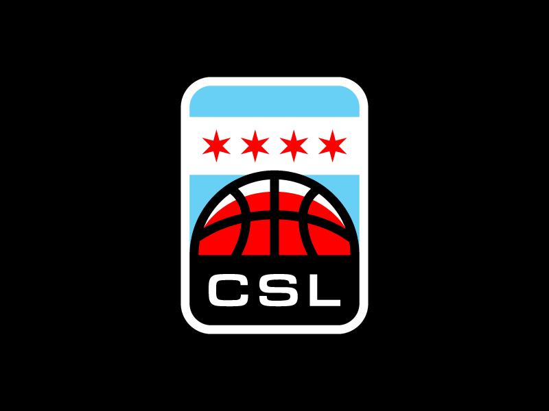 CSL logo basketball chicago csl