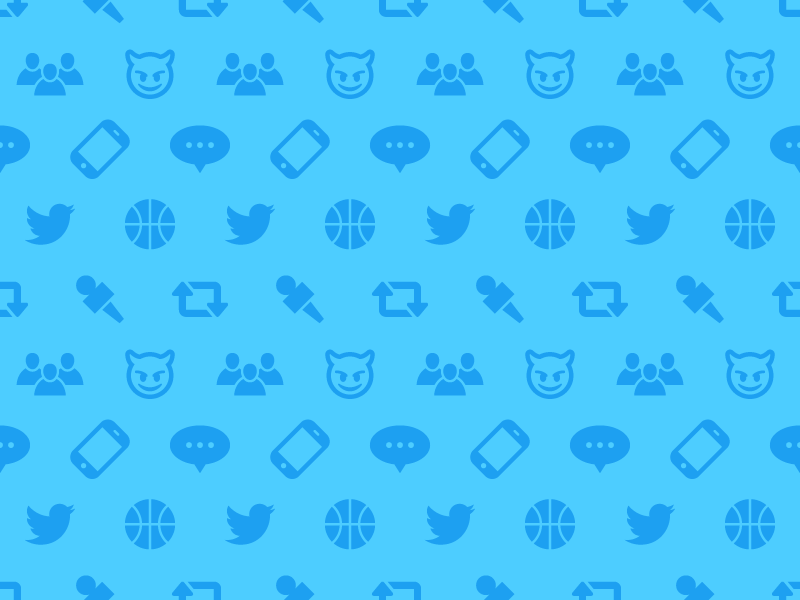 NBA Twitter Pattern twitter pattern nba