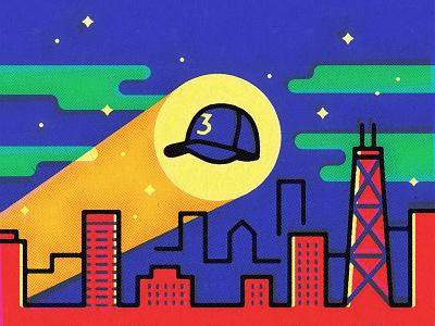 Hat-Signal batman chicago hip hop chance the rapper