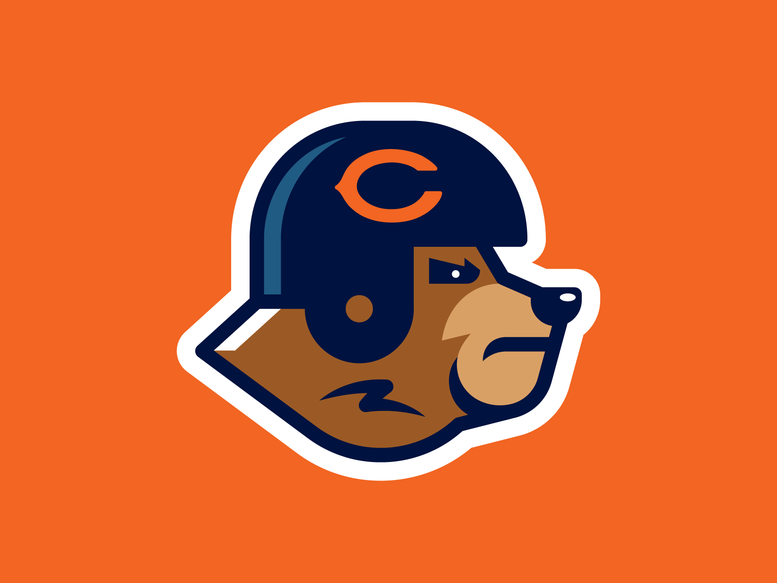 Dribbble Chicago Bears Png By Elias Stein