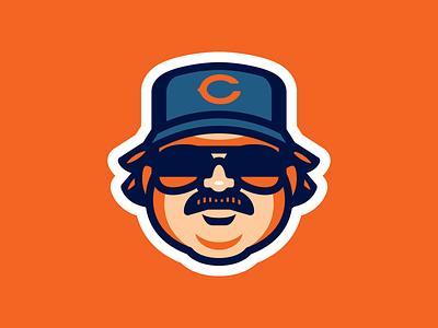 Da Bears da bears saturday night live superfans chris farley stickers sports snl bears chicago football nfl chicago bears