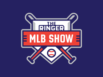 The Ringer MLB Show mlb logo badge baseball