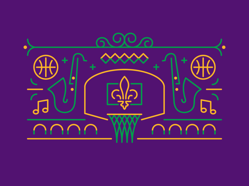 New Orleans Basketball Mardi Gras basketball cities nba basketball mardi gras pelicans new orleans