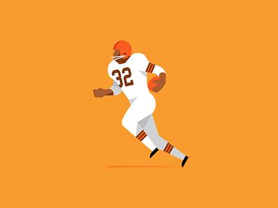 Jim Brown football super bowl nfl jim brown cleveland browns cleveland