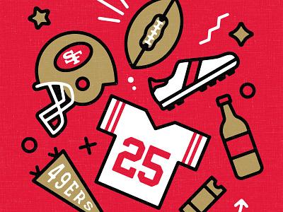 49ers nfl football super bowl 49ers san francisco