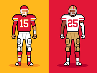 Super Bowl 54 niners san francisco 49eres 49ers san francisco kansas city chiers chiefs kansas city football nfl super bowl
