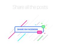 Daily UI - 010 | Social Share