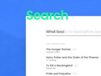 Search | DailyUI - Day 22