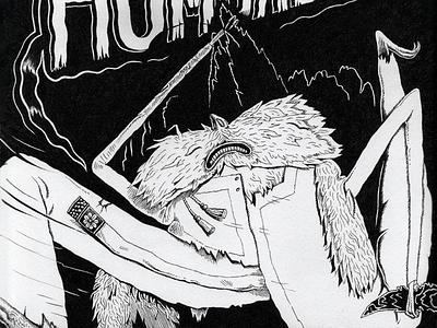 Humbaba - ჰუმბაბა illustration comic