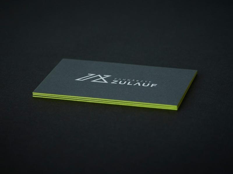 Studio Una: Branding Zahnärzte Zulauf dentist brand design logo brand identity graphicdesign concept branding design typography