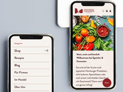 Studio Una: webshop – SpeicherUndConsorten uiux web website shopware webdesign concept design shop webshop
