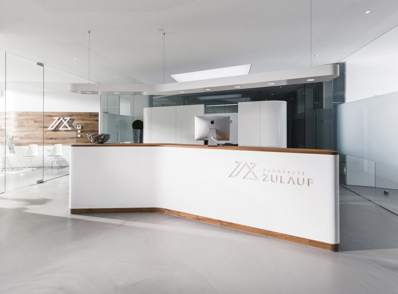Studio Una: Branding Zahnärzte Zulauf graphicdesign logo concept dentist brand design design branding typography
