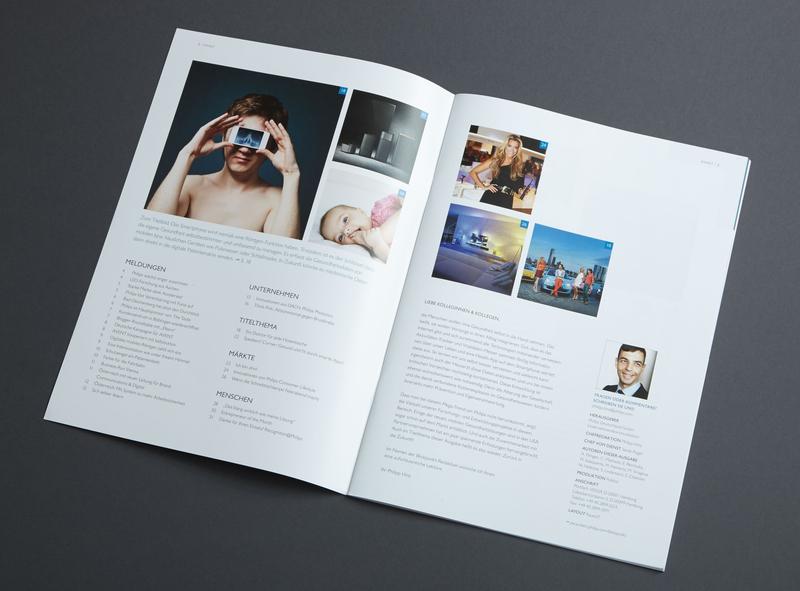 Studio Una: employee magazine for Philips infographics graphicdesign illustration brand design design editorial design typography concepts editorial