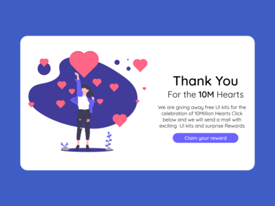 Thank You page UI design daily UI day 77 thank you page thank you thankyou page dailyui dailyuichallenge
