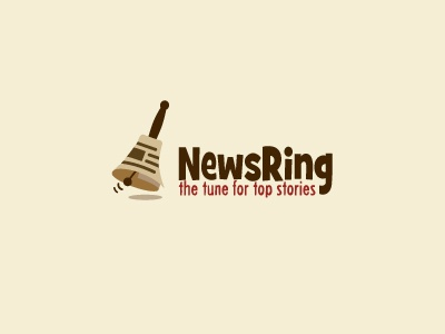 Newsring news ring stories brown paper roll bell infomal
