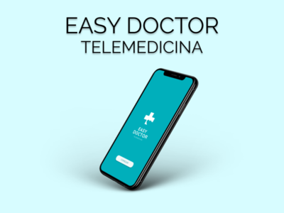 Easy Doctor Telemedicina - Consultas Online ux ui logo illustration icon design coloful brasil branding app
