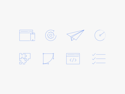 Webisoft Product Development Icons