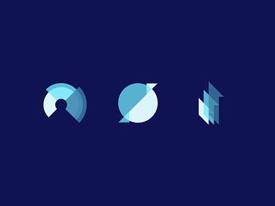 Unused Application Icons composition concept overlay 2d grid flat icon illustrator web blue opacity design app app application ui ux vector illustration branding design graphic