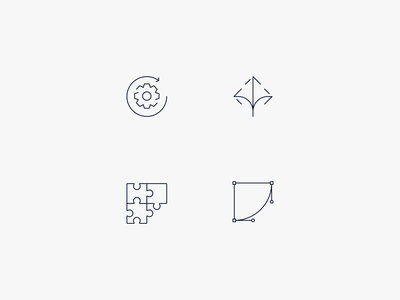 Service Icons web flat typography web development ui ux user design stroke outline 3pt logo logomark logotype exploration illustration vector icon set icon iconography graphic design form flat marks branding brand identity brand design app