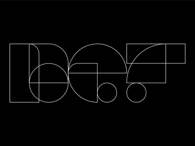 D E F 36daysoftype 36dot graphic design letterforms shapes vector flat iconography illustration illustrator forms logo logomark logotype typography def concept branding grid composition brand identity 36 days of type