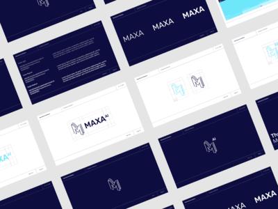 Maxa AI, Brand Guidelines