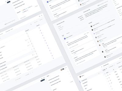 Dashboard Design bitcoin dashboard apple system table blue software startup gray interface human cms admin management money desktop transfer clean ux ui