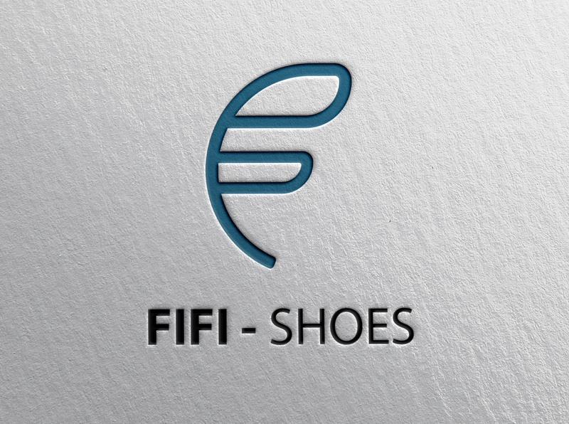 "Logo for ""FIFI-SHOES"" branding brandin letter letterdesign design art imagination creative adobe illustrator logo design"