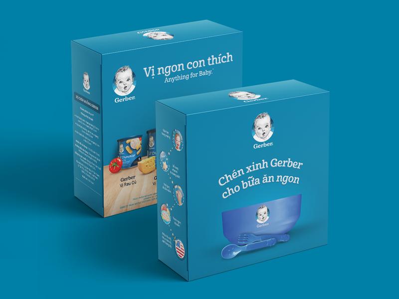 Gerber Gift Box - Promotion gift vietnam promotional nestlé promotion gift box gerber