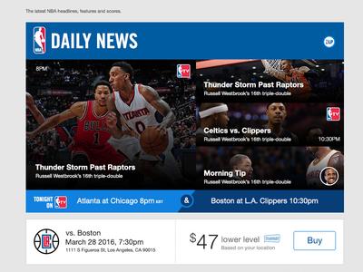 NBA.COM   Daily News newsletter