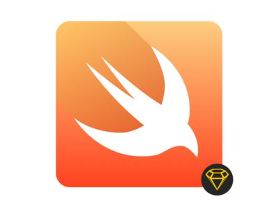 Swift Icon with sketch 3 - free download