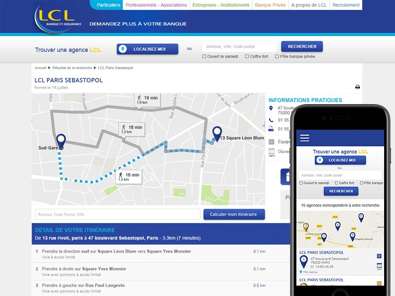 Bank Storelocator locator search find bank