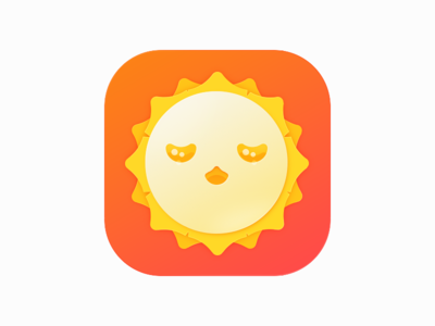 weather-face flat icon weather