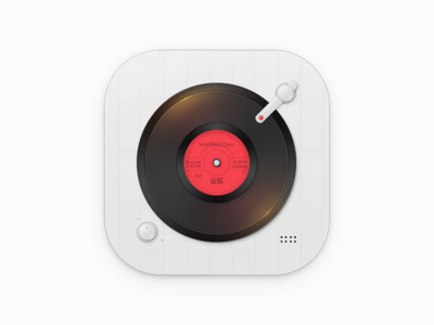 Music Player flat icon misic