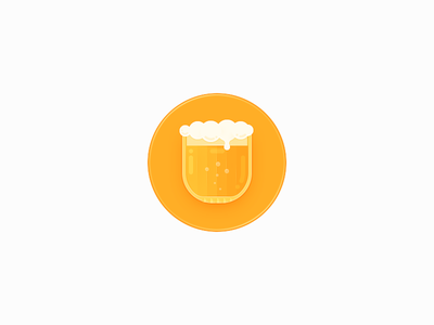 Hourglass Recorder / Cheers congratulations beer cup cheers icon