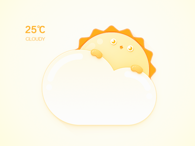 Weather Man / Cloudy Daytime cute cloudy weather