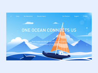 illustrations landing page animation