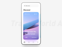 Travel World App Animation