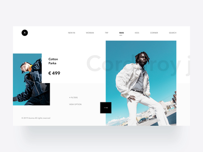 Products Page Animation product shop typography web animation light flat minimal modern interactive design ui layout clean