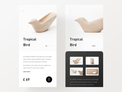 Mobile Shopping product shop typography minimal app modern interactive design ui layout clean