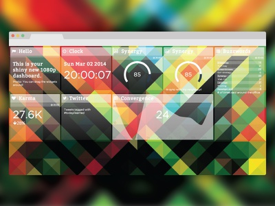 Fractal Dashboard user interface dashboard graphs data web design