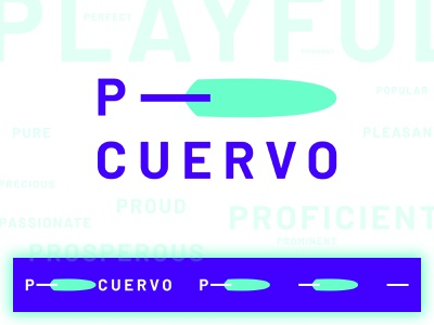 P– Cuervo crow design agency branding logo