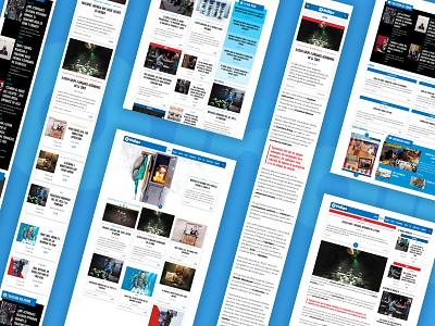 News site - Reporte Indigo wordpress theme ux design news site newspaper ui user interface web design