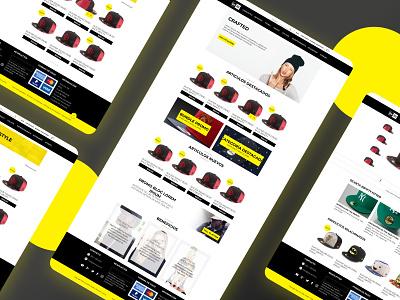 New Era Mexico eCommerce wordpress ecommerce new era wordpress theme ux ui user interface web design design