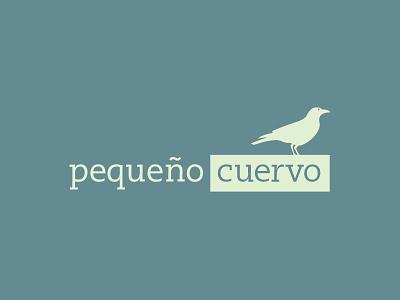 Pequeño Cuervo little crow agency logo branding digital
