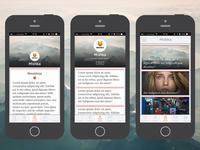 iOS app theme