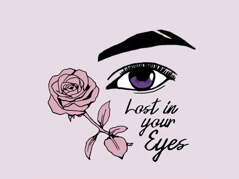 LOST tattoo rose love feelings streetwear street art graphicdesign illustration design artwork